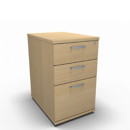 Simply  Desk High Pedestal - 3 Drawer